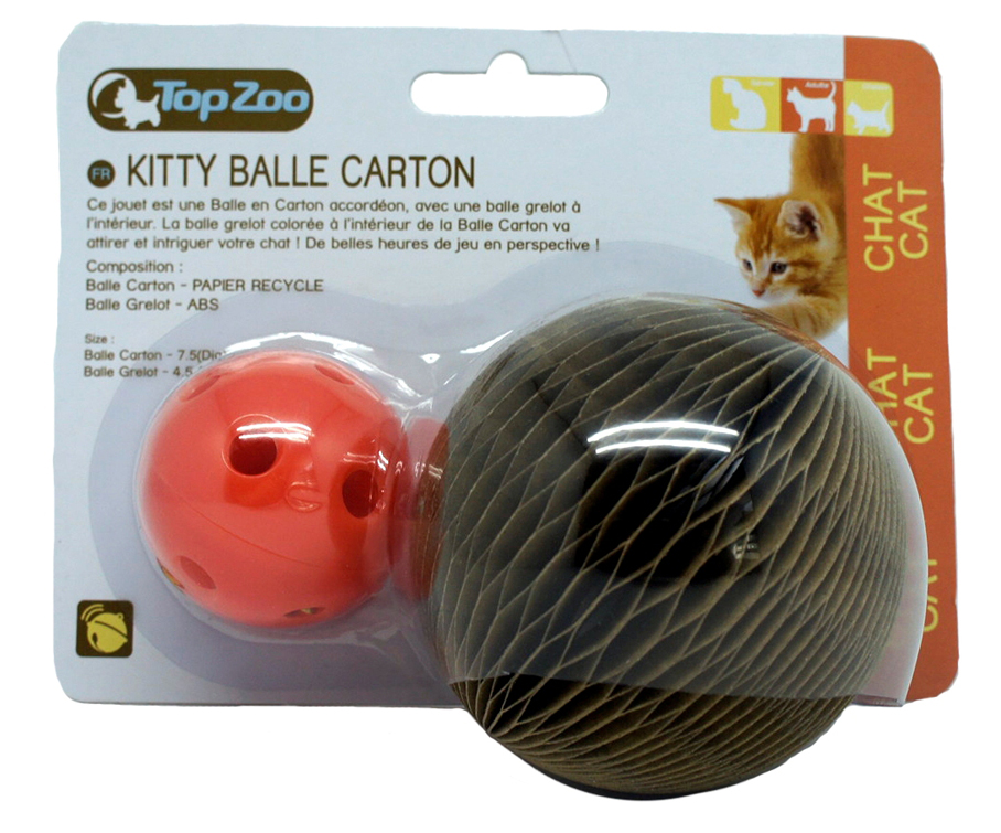 Kitty Carton Ball