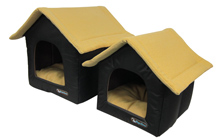 YELLOW  CANVAS DOG HOUSE