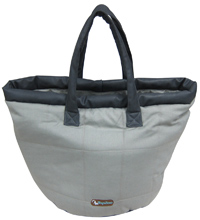 GRAY BRITISH TRAVEL BAG & BED