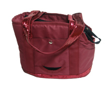 GIRLY RED RASPBERRY BAG