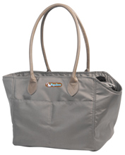 GRAY SUBWAY BAG
