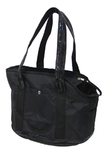 GIRLY BLACK BAG