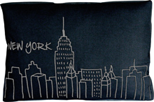 NEW YORK BLACK BED
