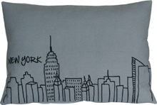 NEW YORK GRAY BED