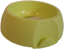 SMALL ROUND YELLOW PET BOWL